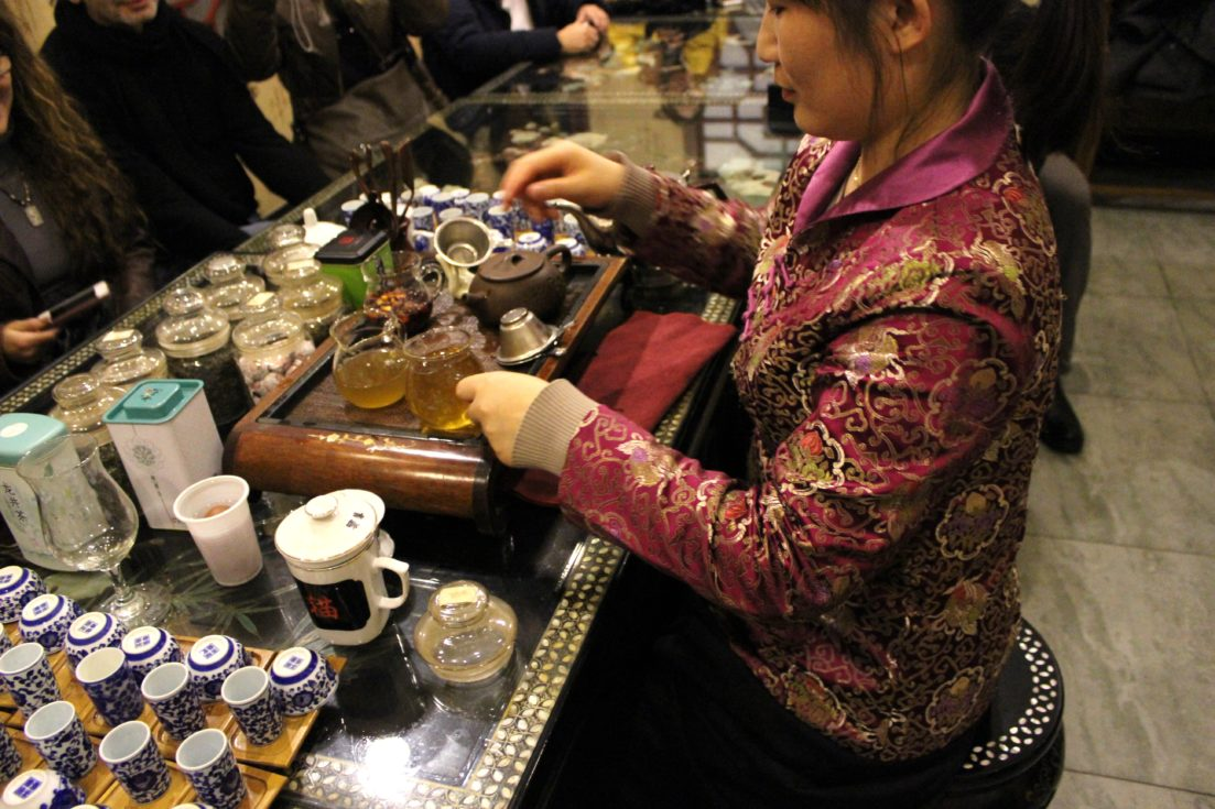 Chinese Tea House in China