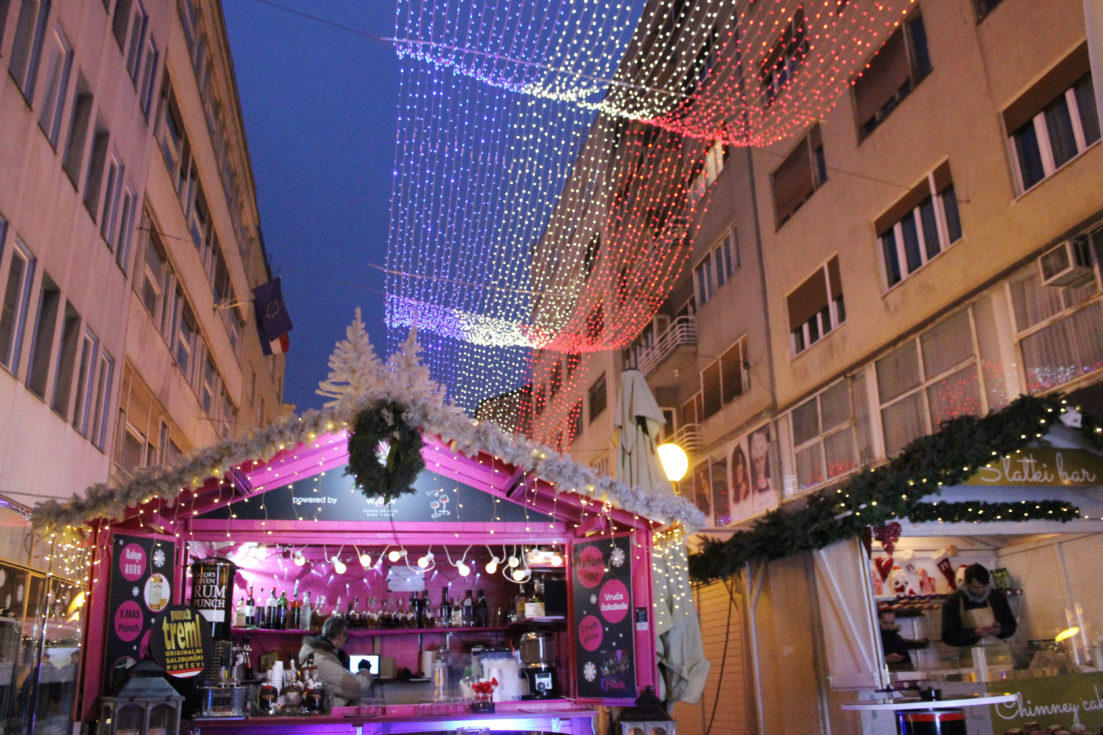 Voted European Best Christmas Market, Zagreb Croatia www.wheremyheartwanders.com