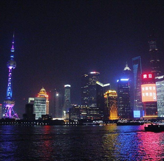 The Shanghai skyline is the prettiest Ive ever seen andhellip