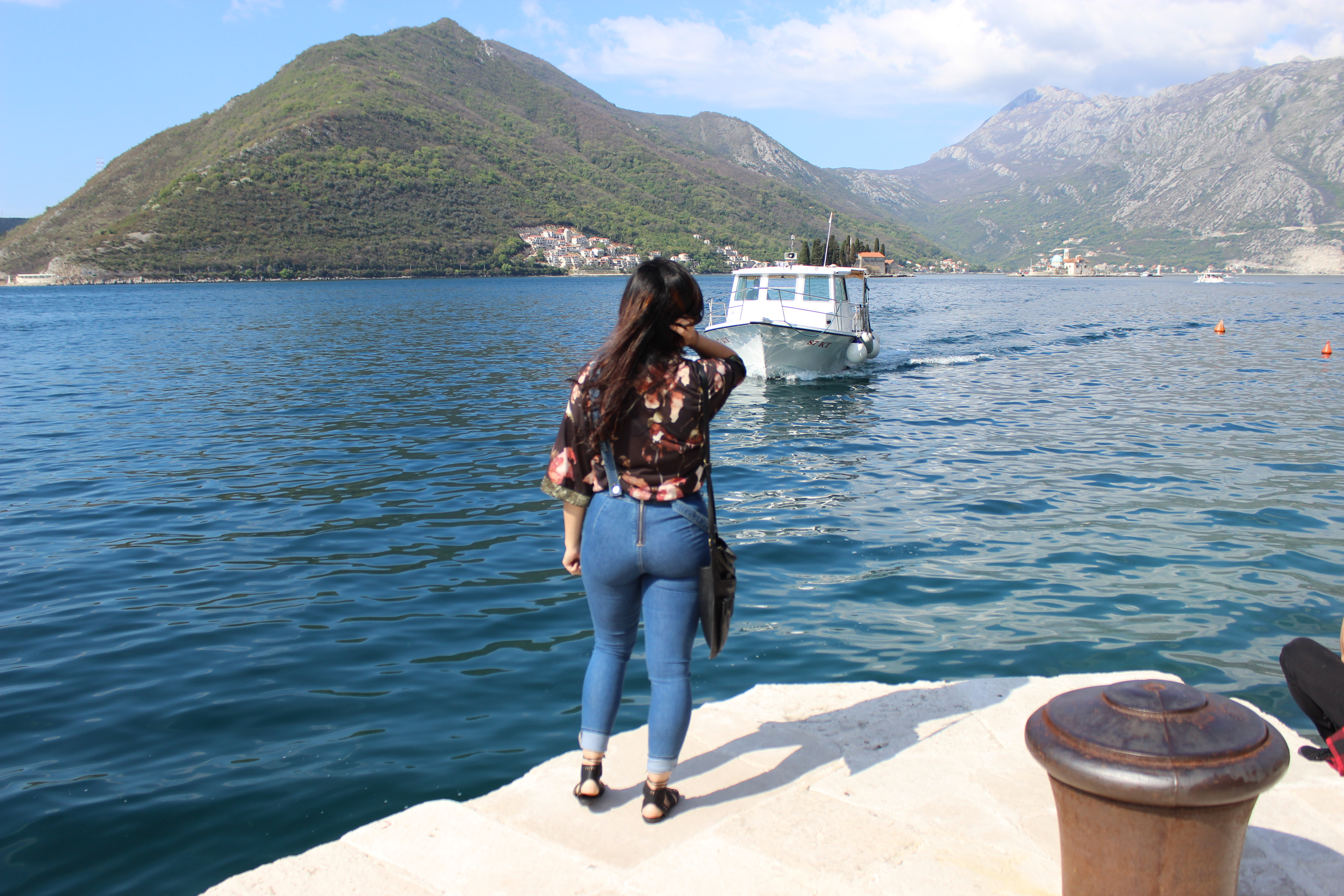 Overalls for a spring look in Montenegro http://www.wheremyheartwanders.com