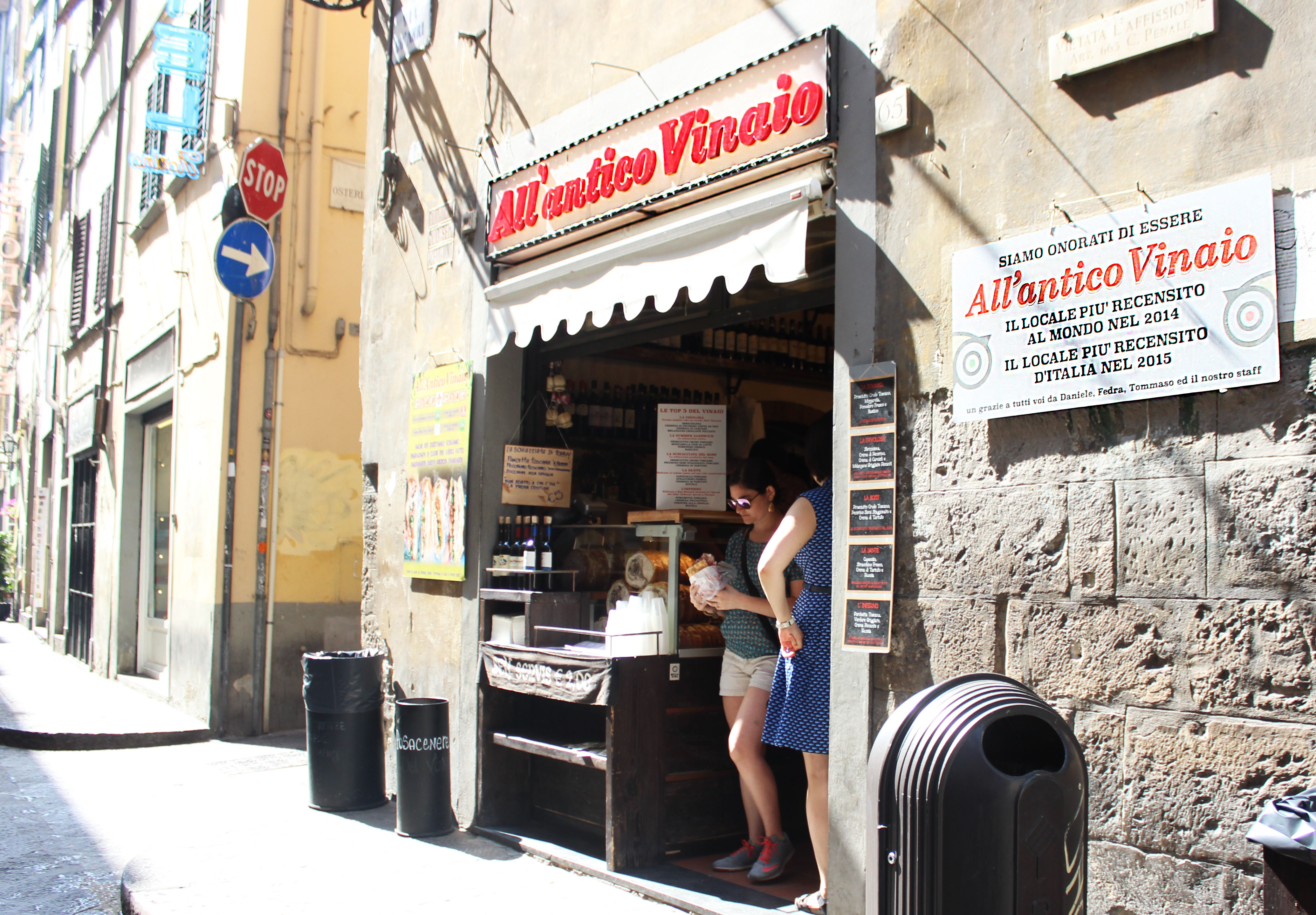 Paninis to eat in Florence, Italy