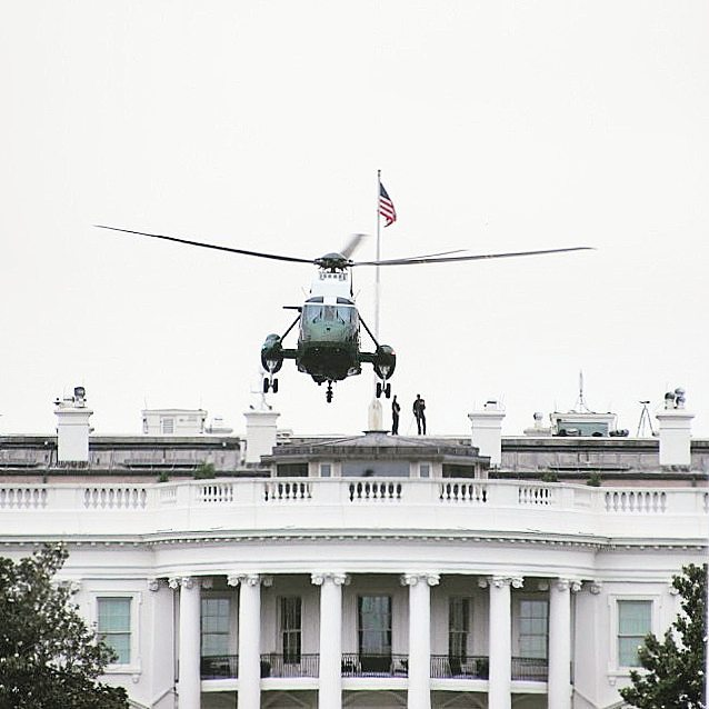 While in Washington DC we saw the president leave hishellip